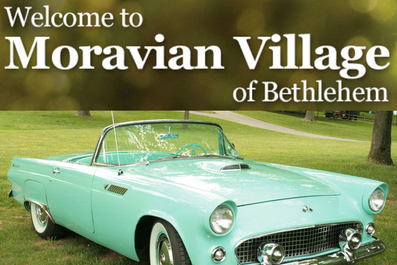 Sept 14th LVTC CAR SHOW MORAVIAN VILLAGE